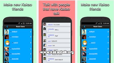 Conoce nuevas amigas y amigos con Chat Room for Kakao