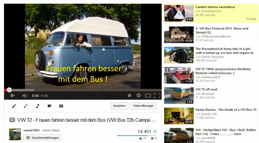 unsere Youtube-Videos
