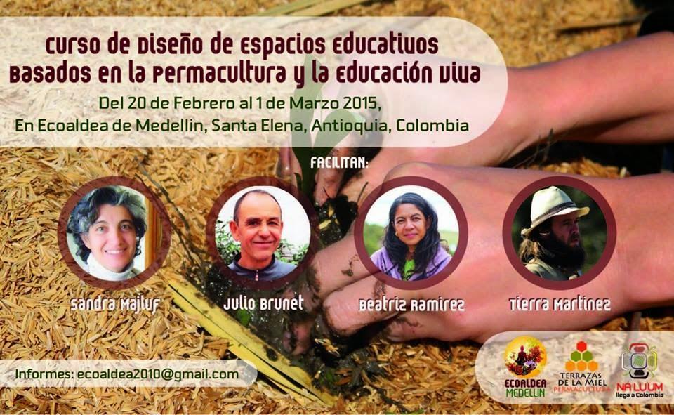 Curso de Diseño de Espacios Educativos Basados en la Permacultura y la Educacion Viva