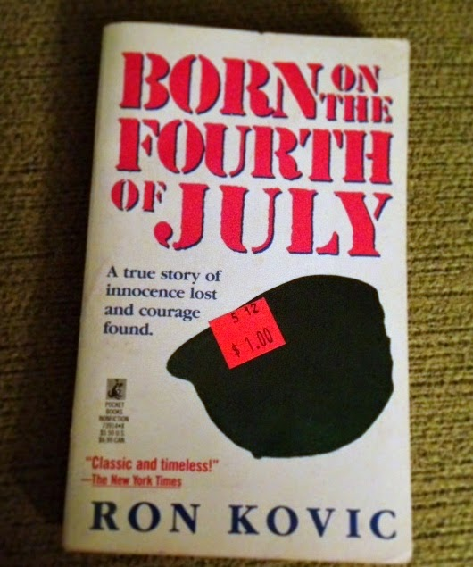 an analysis of the vietnam war in the memoir born on the fourth of july by ron kovic Free essay: history 76 april 27, 2009 born on the fourth of july analysis of ron kovic's autobiography some of the most popular pictures are those of.