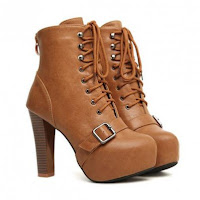 Ladies Dress Boots Zipper1