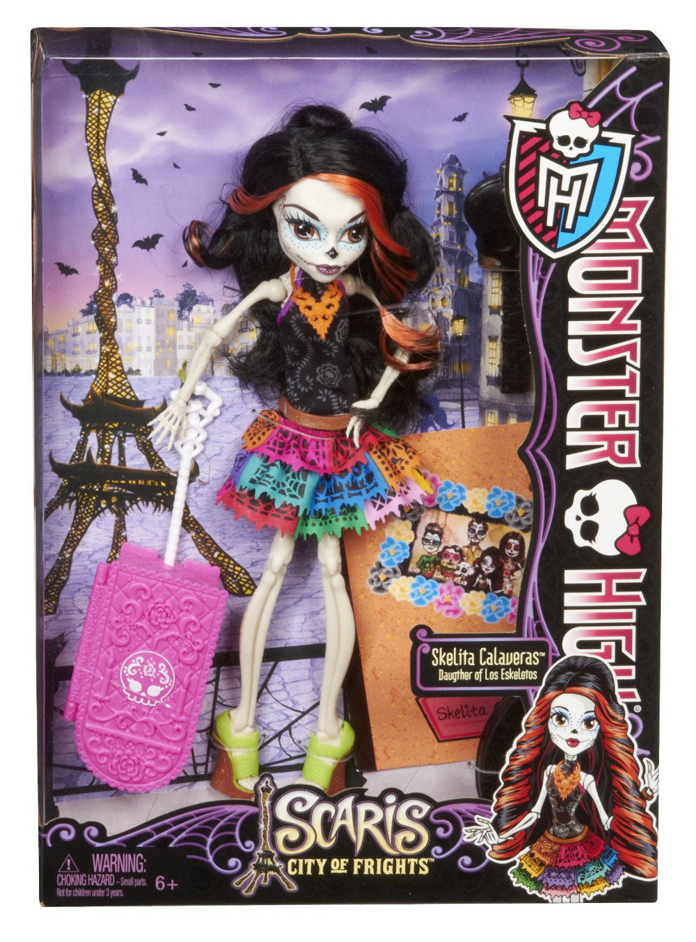 Monster High Toys : Libros y juguetes demagiaxfa toys skelita calaveras