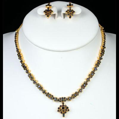 Sapphire Necklace Set Designs