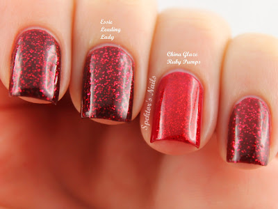 Essie - Leading Lady China Glaze Ruby Pumps