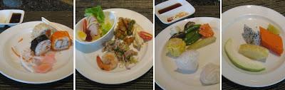 Hotel - Buffetessen in Bangkok