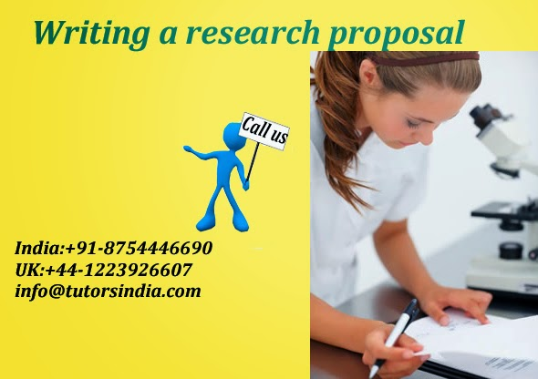 Research proposal writing help