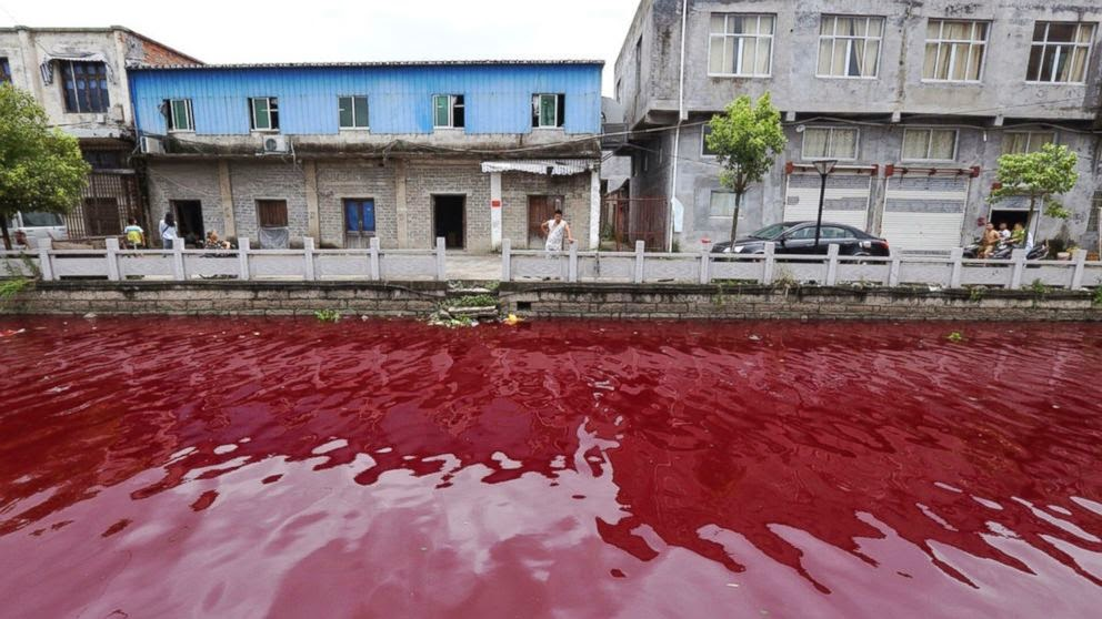 http://abcnews.go.com/International/river-china-mysteriously-turns-bloody-red-overnight/story?id=24715670