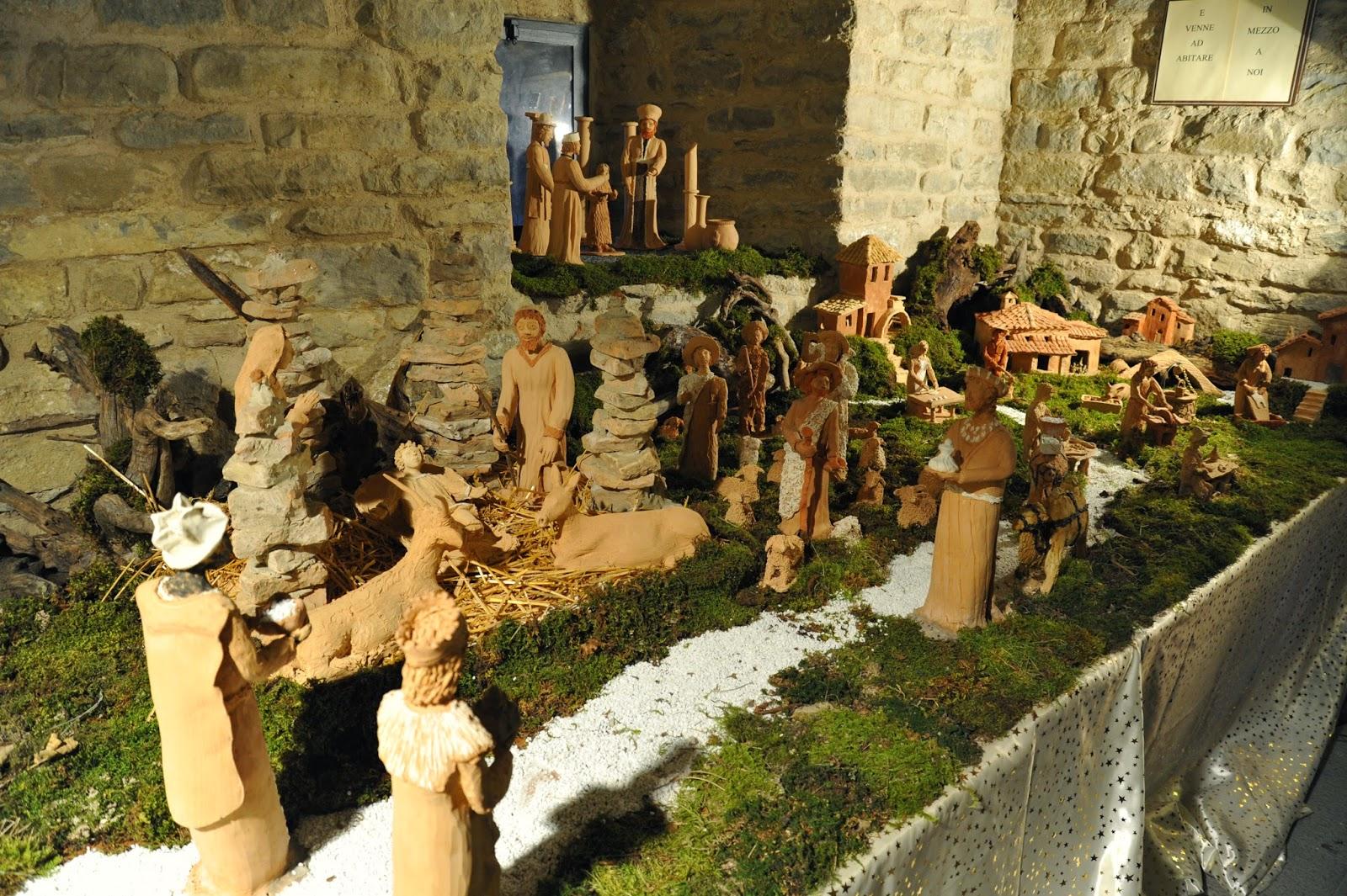 Portico di Romagna, il paese dei presepi