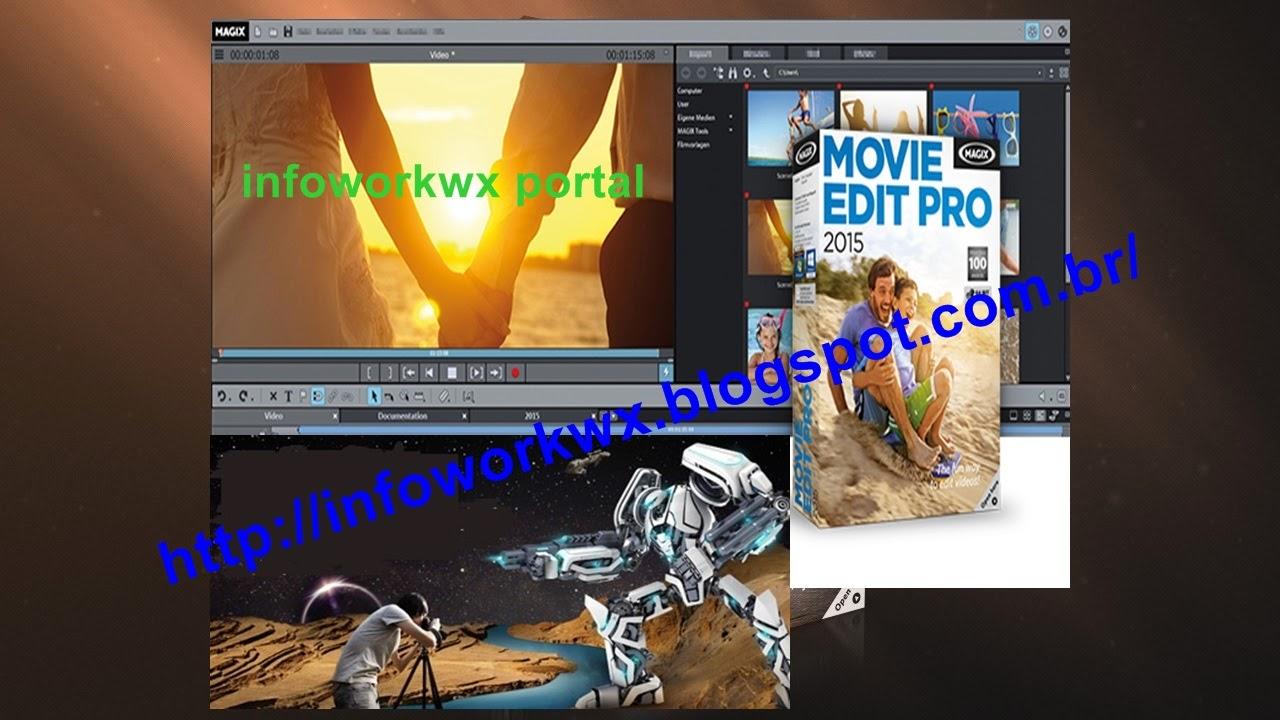 infoworkwx portal download magix movie edit pro 2015
