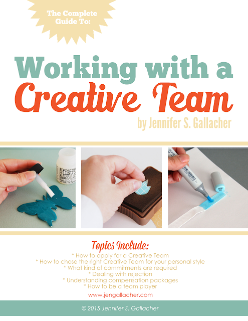 """Working with a Creative Team"" Ebook by Jen Gallacher available at http://jen-gallacher.mybigcommerce.com/working-with-a-creative-team-ebook/"