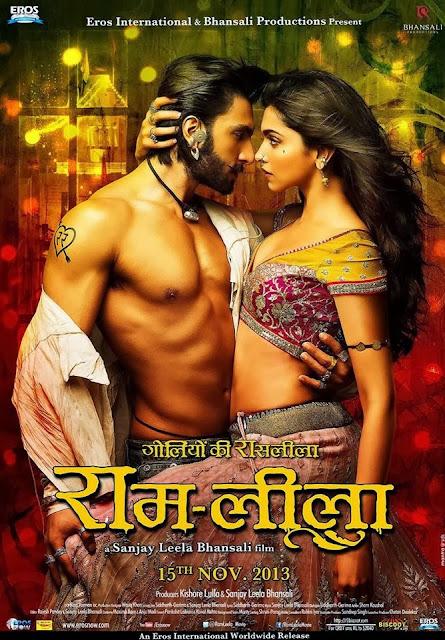 Ram Leela Deepika Padukone And Ranveer Brand New Poster