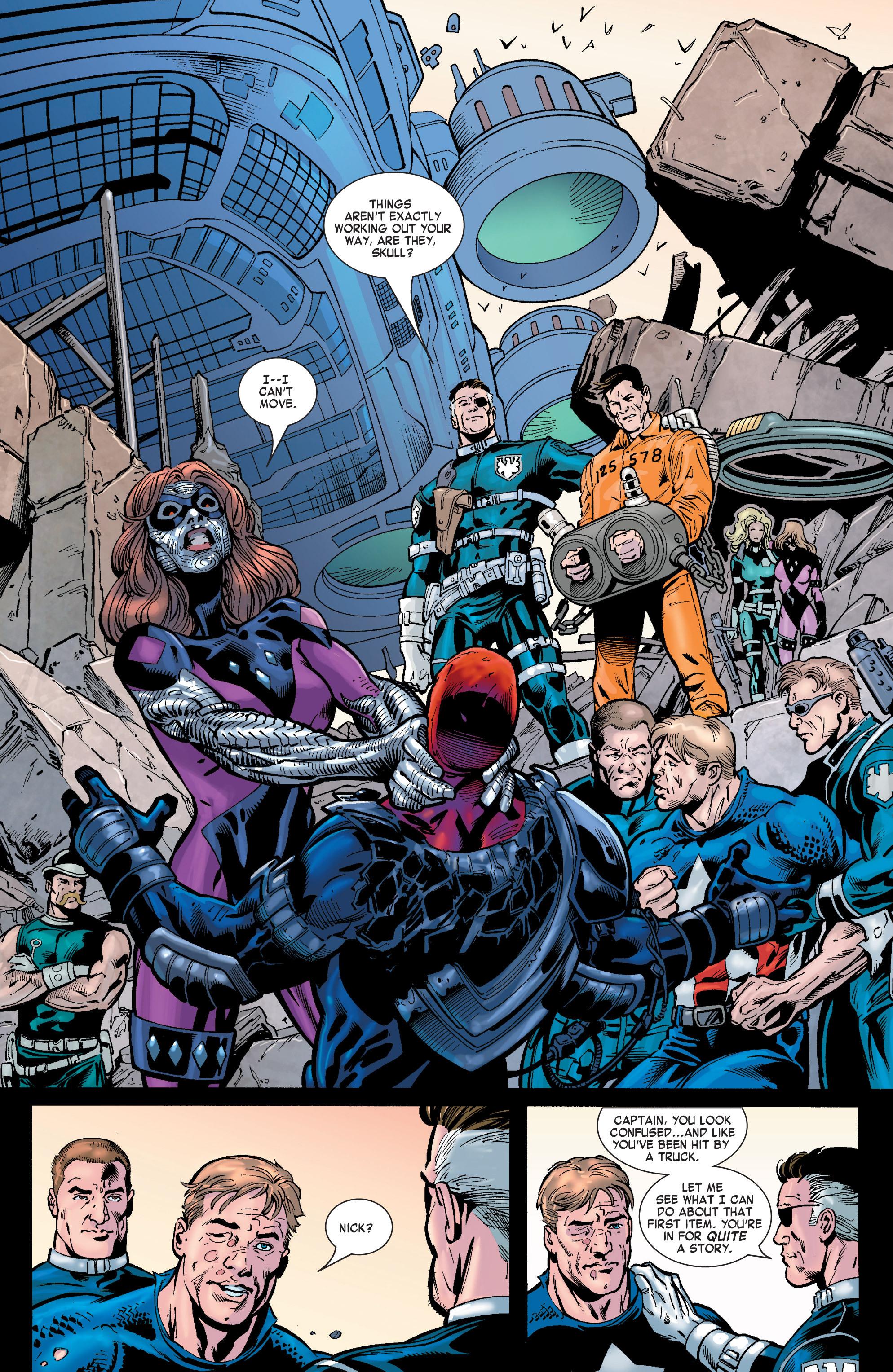 Captain America (2002) Issue #32 #33 - English 20