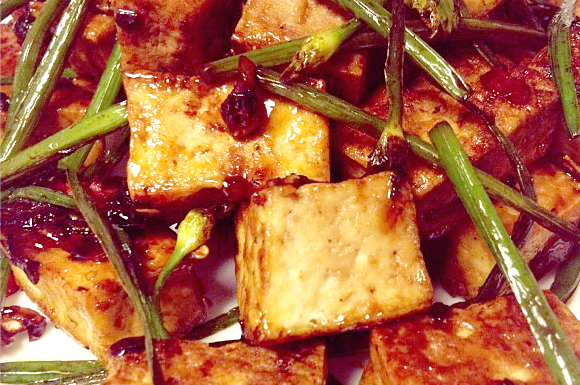 Basil tofu recipe