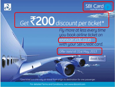 Rs 200 Discount per ticket
