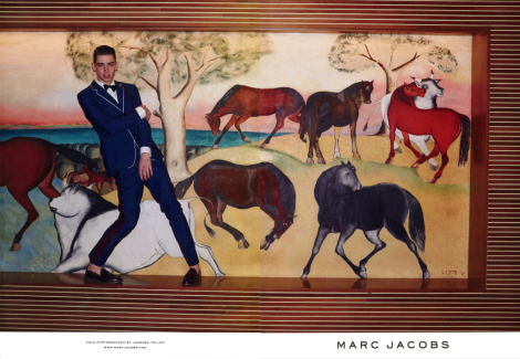 Cole Mohr by Juergen Teller for Marc Jacobs SS14 Campaign