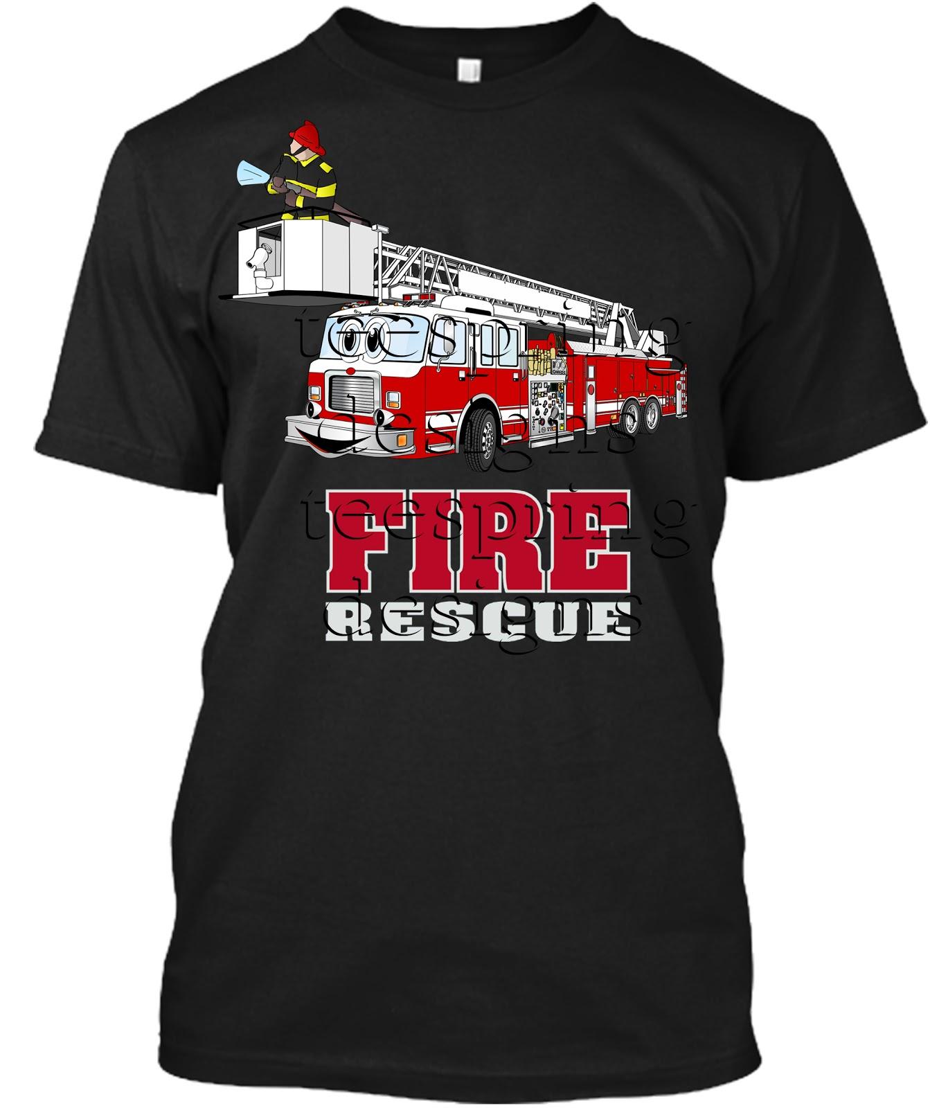 Teespring T Shirt Designs Fire Department Tee Shirt