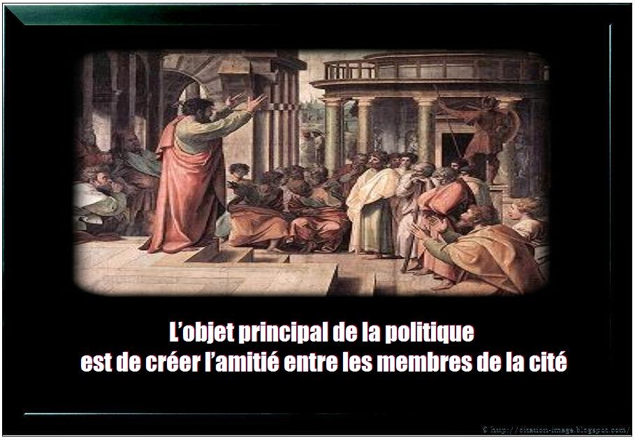 Citation politique aristote en image