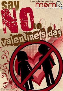 hukum sambut valentine's day, hari kekasih