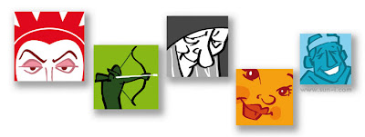 facebook profile images for Snow White and co
