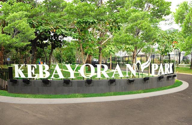 pintu gerbang kebayoran park Bintaro Jaya The Professional's City - Perumahan jakarta selatan
