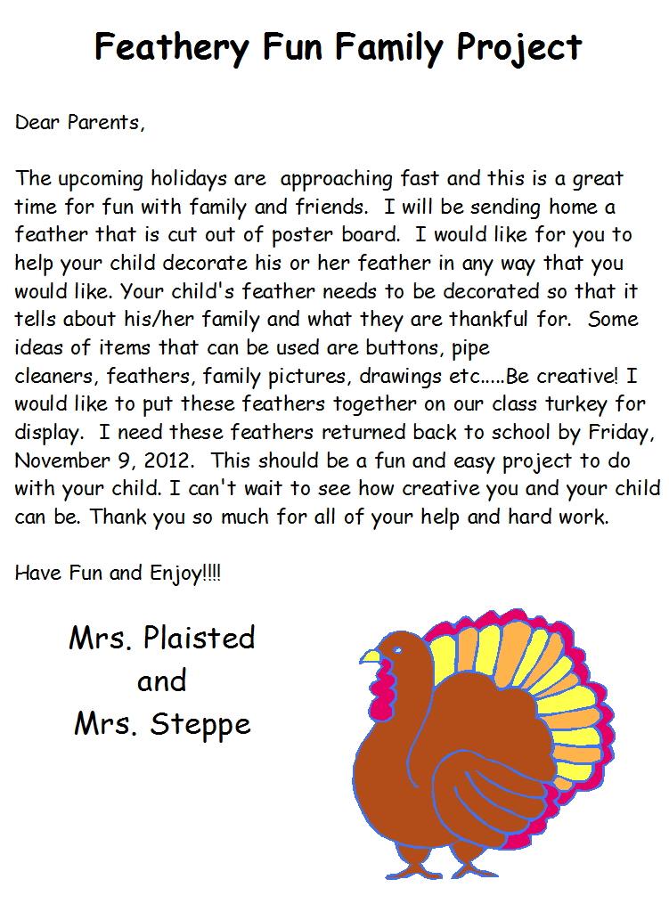 class thanksgiving feast ideas