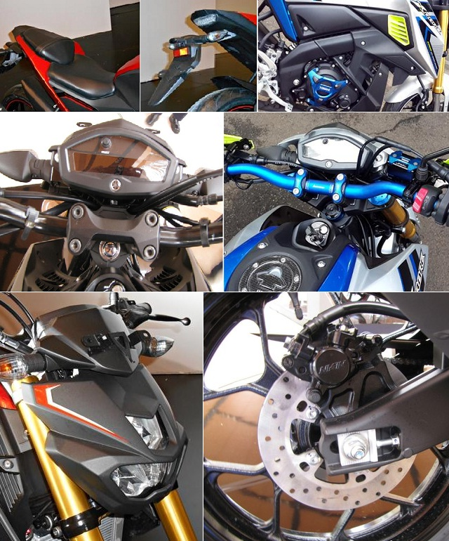 Aksesoris Yamaha Xabre