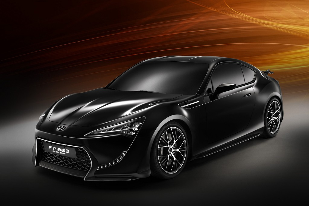 NEW CONCEPT CAR TOYOTA FT-86 II