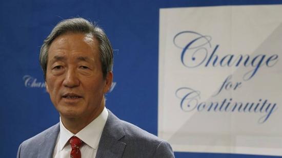 Sul-coreano Chung Mong-joon já se lançou oficialmente como candidato à presidência da Fifa
