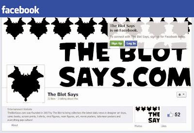 TheBlotSays.com joins Facebook!