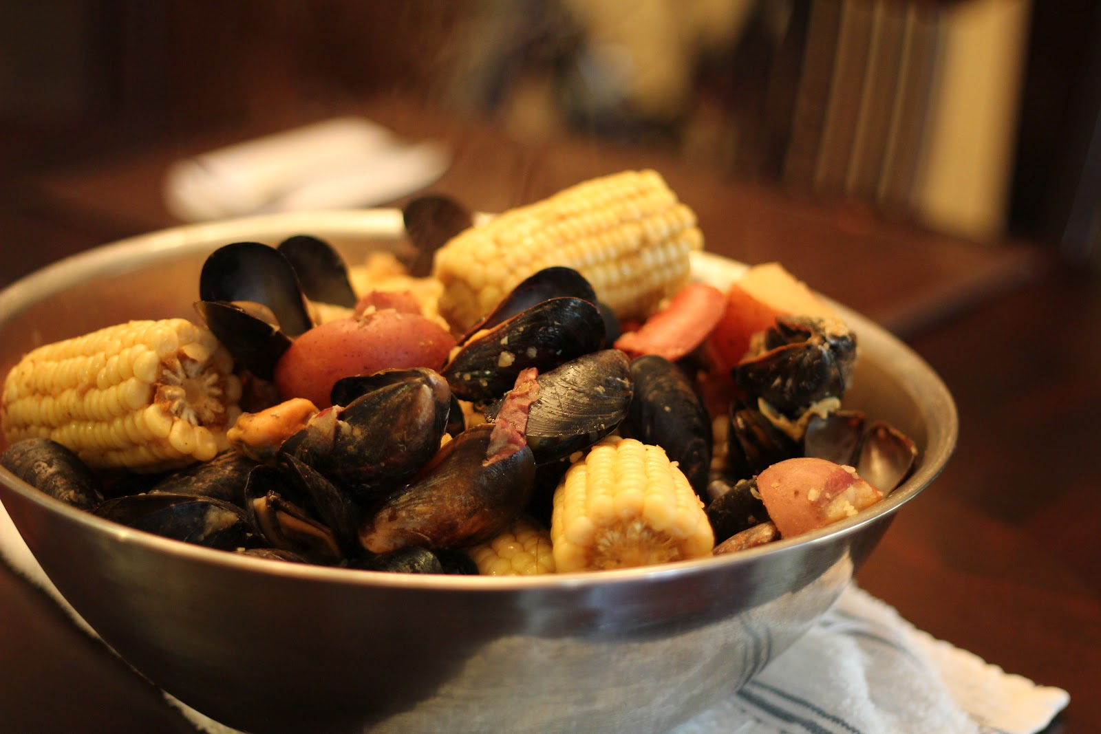 how to cook mussels boil