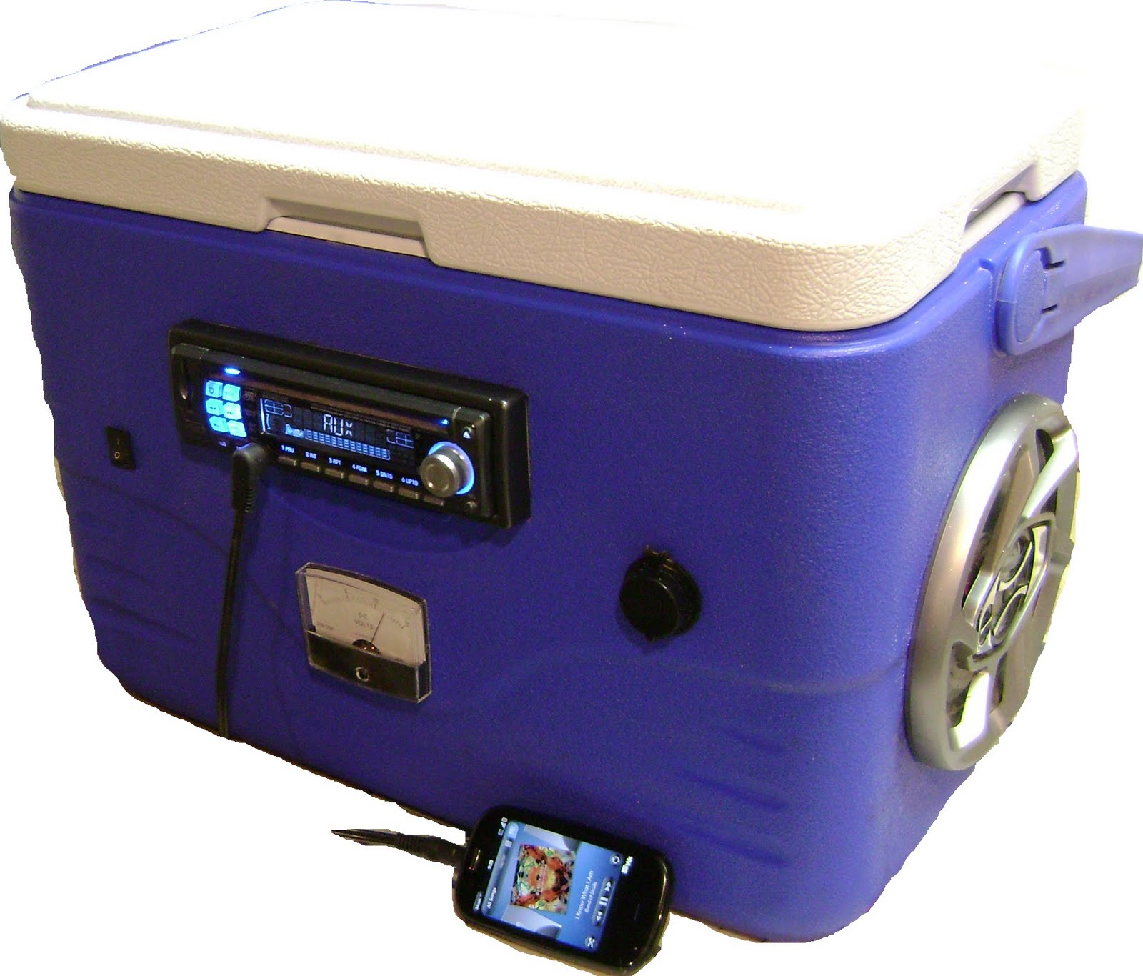 Johns Projects The Cooler Radio