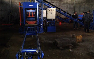 CARA : Mesin Paving Block - Batako (Otomatis - Hidrolik, Manual)