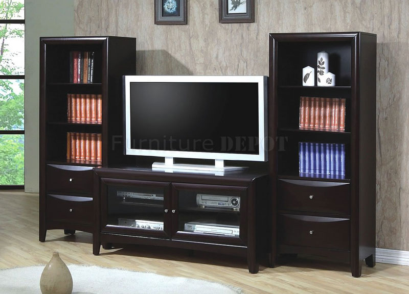 Wooden TV Stand Design