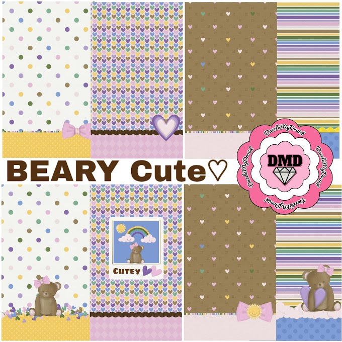 FREEBIE ♡♡♡ BEARY CUTE Wallpaper Collection