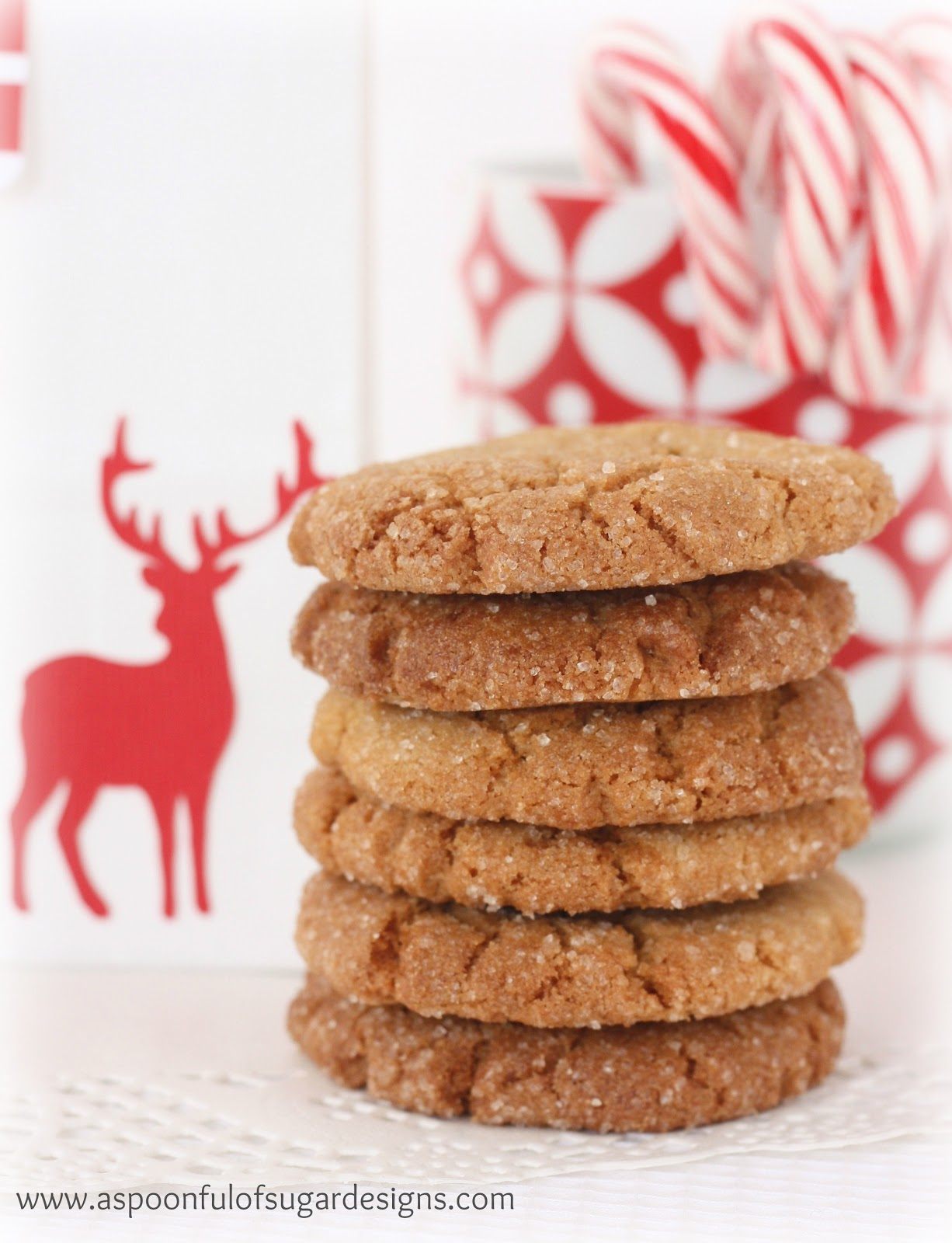 Brown Sugar Cookies - A Spoonful of Sugar