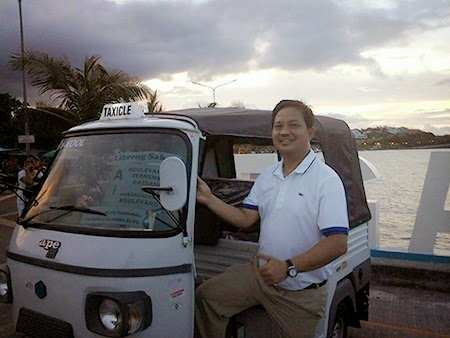 Taxicle in Legazpi City