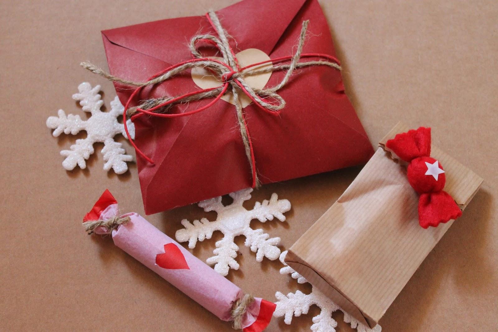 Connu PAROLE & BURROCACAO: Idee pacchetti regalo per Natale facili e  GZ89
