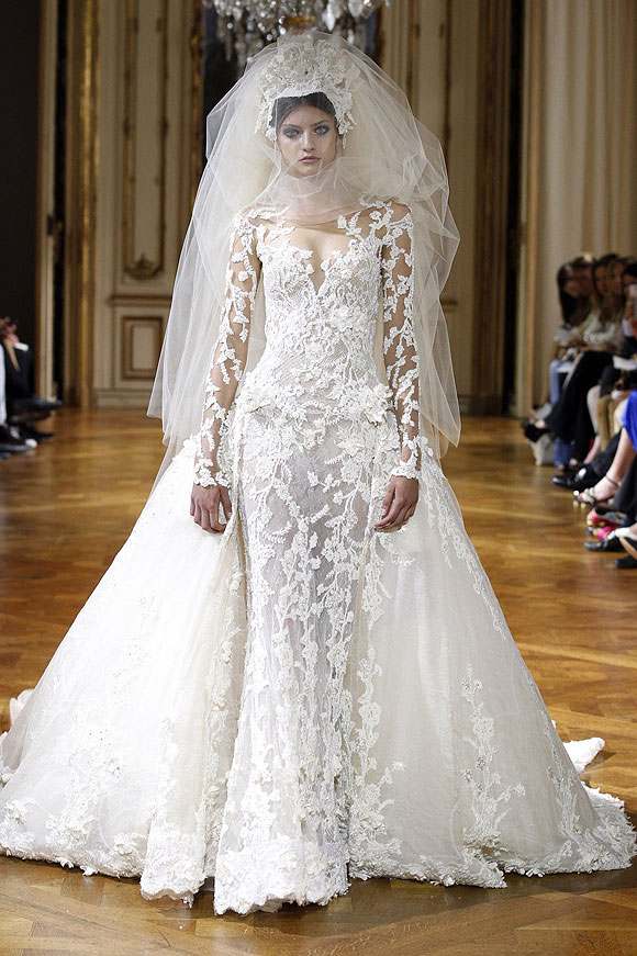 Runway report brides of haute couture a w 2013 nick for Haute couture seamstress