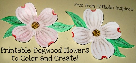 The Legend Of The Dogwood Tree Crafts And Cards | Party Invitations ...
