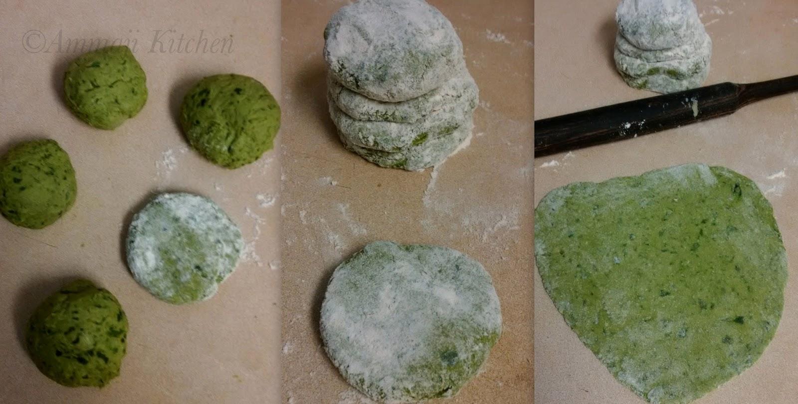 Palak Roti