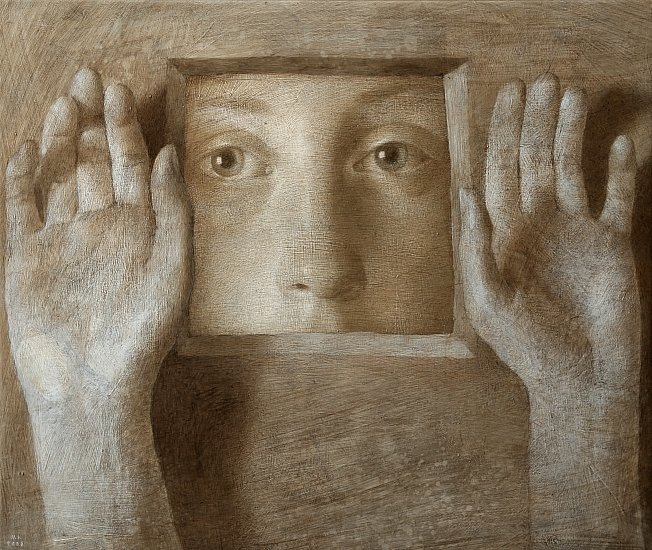 Michal Lukasiewicz 1974 | Polish Realistic Figurative painter