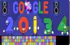 ¡Felíz Año Nuevo!: doodle de Google, 31 de diciembre