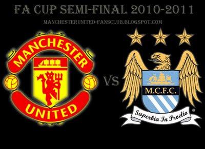 Manchester United vs Manchester City FA Cup Semi-final