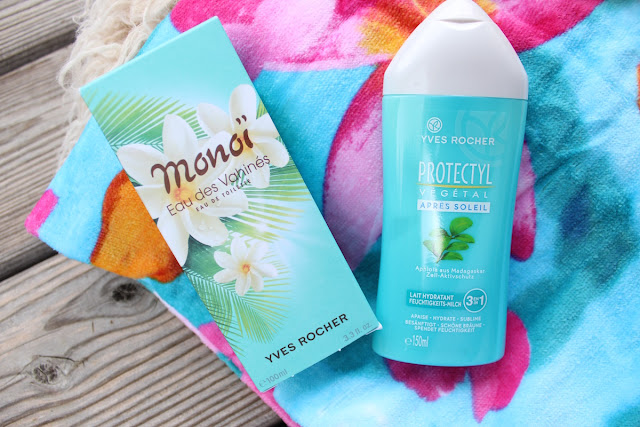 TheBlondeLion Yves Rocher Monoi de Tahiti Produkte