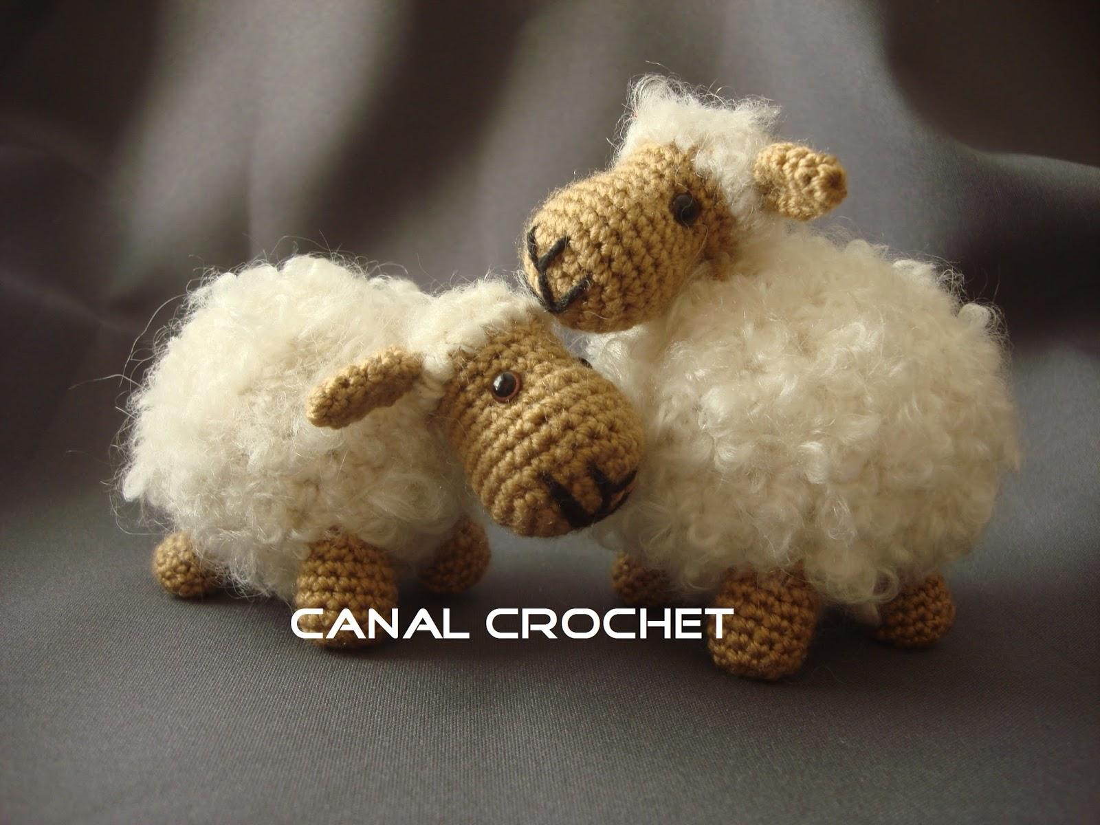 Dinosaurios Amigurumis Patrones Gratis : Canal crochet: oveja amigurumi patrón libre: