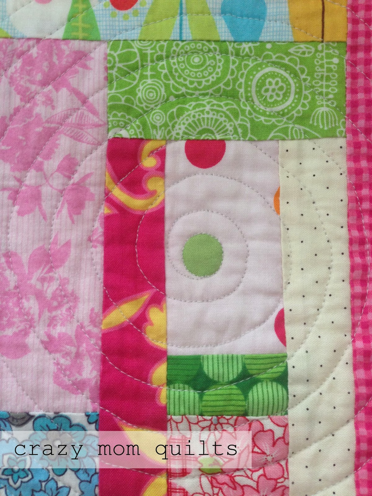 crazy mom quilts: a spiral (and oval) quilting tutorial : spiral quilts - Adamdwight.com