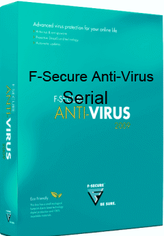 F-Secure Antivirus Plus Serial Crack Keygen License Free Download