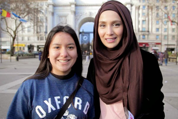 ilustrasi muslimah London