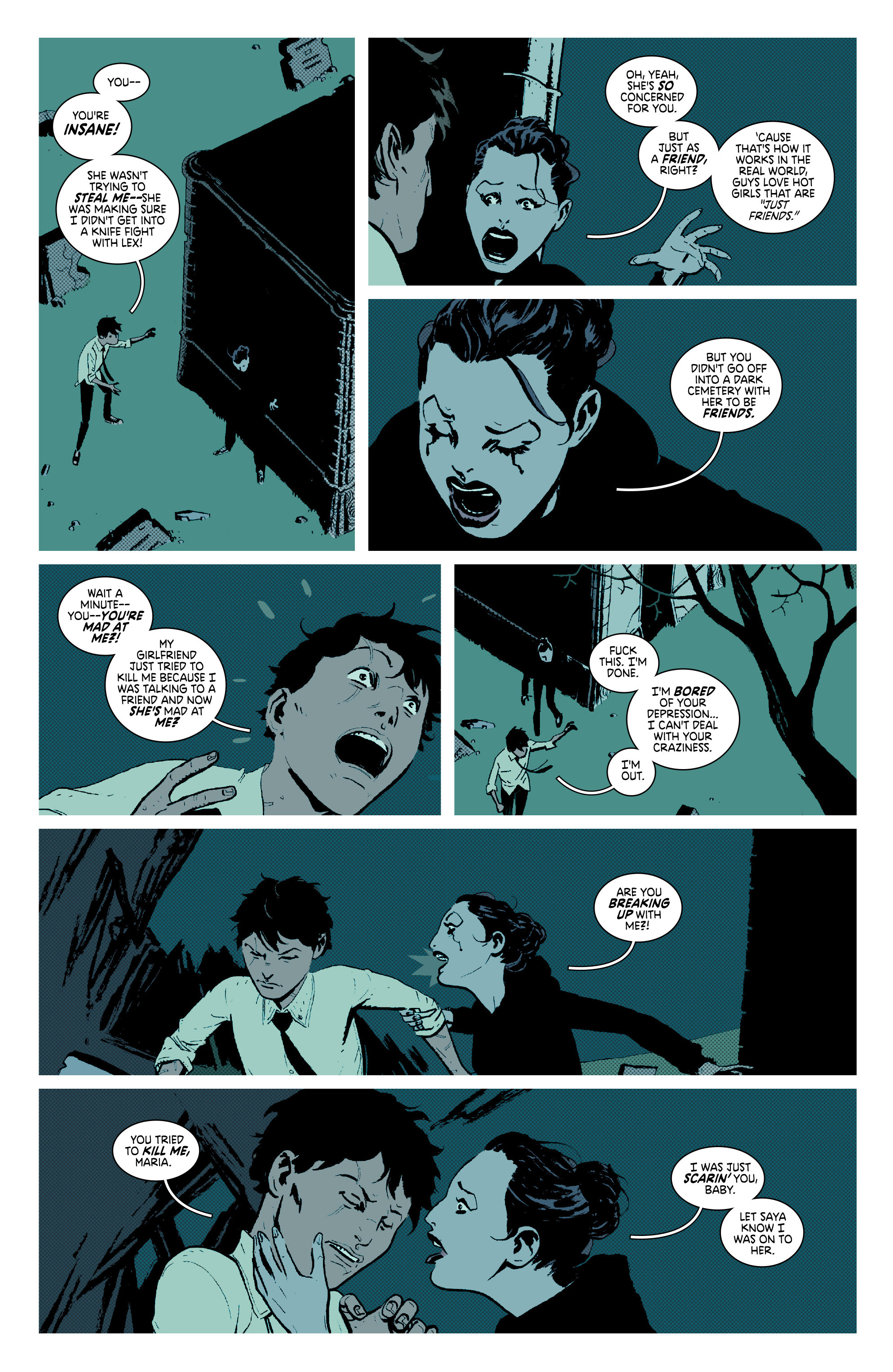Read online Deadly Class comic -  Issue #7 - 19