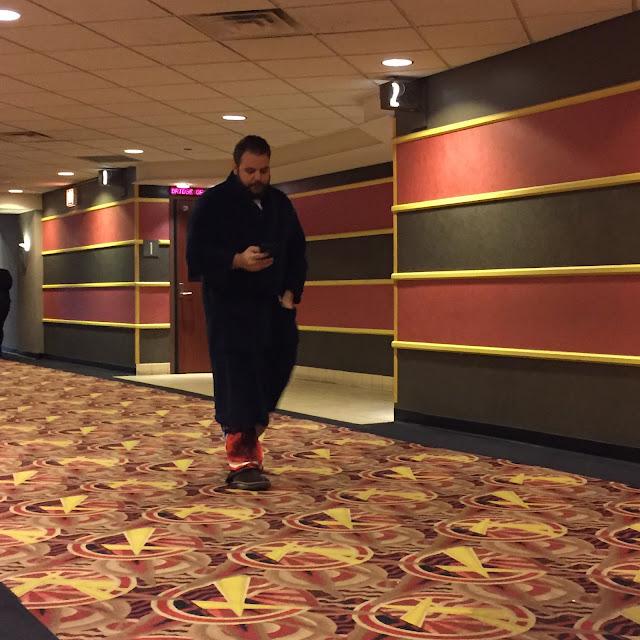 Guy in bathrobe Star Wars Marathon
